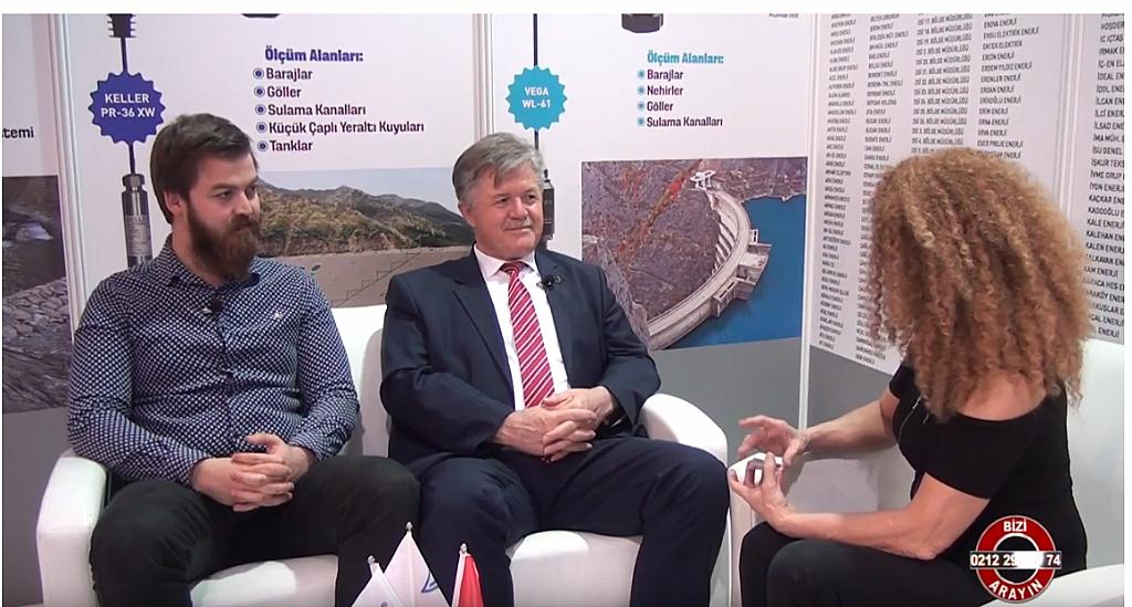 AKIM Elektronik Fuar TV röportajı